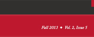 Fall 2013 Vol. 2, Issue 5