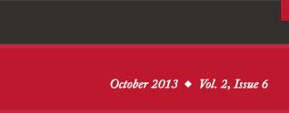 October 2013 Vol. 2, Issue 6